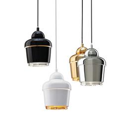 Modern Minimalist Pendant Lamp Artek Metal Single Light Dining Room Lighting Fixture E27 110V 220V D7 Inch X H10