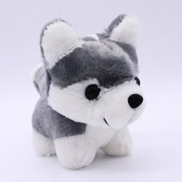 Wedding stuffed animals online shopping - 18CM in Cute Dog Bell Husky Doll plush toy Doll Stuffed Animals Baby Toy for Children Gifts Wedding Gifts Couple gifts