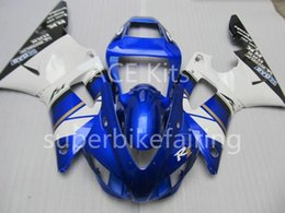 $enCountryForm.capitalKeyWord Australia - 3Gifts New Hot sales bike Fairings Kits For YAMAHA YZF-R1 1998 1999 r1 98 99 YZF1000 Cool Blue White SX4
