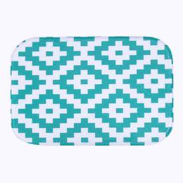 Wholesale  Simple Design 2016 Microfiber Chenille Bath Mat Carpet Floor Rugs  Carpets Horizontal Stripes Rug For Bathroom Kitchen Tapete XT