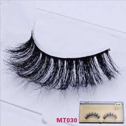 Wholesale 100 Mink False Eyelash Full Handmade Super long Thick and Messy with High Quality Popular for Beauty Makeup MT030