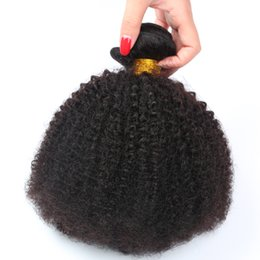 afro curls weave 2019 - 8A Mongolian Afro Kinky Curly Virgin Hair 4 Bundles Kinky Curly Afro Curl Mongolian Kinky Curly Hair Natural Human Hair