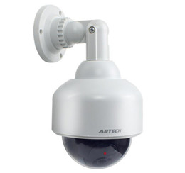 Discount dummy domes - P2100 DUMMY Surveillance Security Simulation FAKE CAMERA CCTV wireless SPEED DOME fake camera Indour Outdoor with LED Li