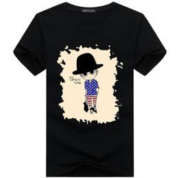 2017 Venta al por mayor de ropa de los hombres Camisetas de los hombres  pintura 3D hip hop ropa para hombre camisas de diseño más tamaño negro  blanco a07e00e505675