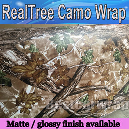 Door stickers Design online shopping - Hot sale Mossy oak Tree Leaf Camouflage Realtree Car Wrap TRUCK CAMO TREE PRINT DUCK graphics design size x m Roll