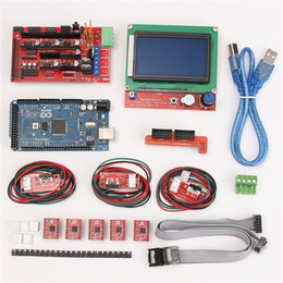 $enCountryForm.capitalKeyWord Canada - Freeshipping 1pcs Mega 2560 R3 + 1pcs RAMPS 1.4 Controller + 5pcs A4988 Stepper Driver Module  RAMPS 1.4 2004 LCD Control for 3D Printer Kit