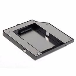 thinkpad hard drives 2019 - Wholesale- Second SATA Hard Drive Adapter Bay Caddy Fit For LENOVO Thinkpad T420 T520 W520 VCN66 T79 discount thinkpad h