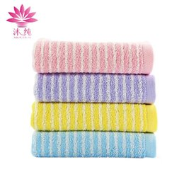 muchun Brand Jacquard Satin Embroidery Towel 100% Natural Cotton Rectangle  Fabric Towel Soft Washrag Absorbent Face Towel Home Textiiles