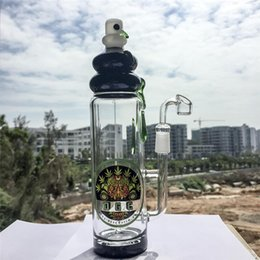Botellas De Vidrio De Color Baratos-2016 Nuevo vidrio Bong Barril Perc Bongs De Cristal 14.5mm Femal Joint Cristal Coloreado Equipo De Petróleo Headshop Bongs Tubo De Vidrio DGC1205