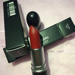 ruby red matte lipstick NZ - A++ Quality M brand Lipstick Matte Lipstick Rouge Alevres Aluminum Tube ruby woo, russian red, lady danger and diva