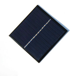 Hot High Quality 1W 6V Mini Polycrystalline Solar Panel Cell Module DIY Solar Charger 82*85*3MM Free Shipping on Sale