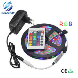 $enCountryForm.capitalKeyWord Canada - Led Flexible Strip 5M SMD3528 rgb 60LED M strips + 24Keys IR Remote Controller EU US PLUG White Red RGB WARM WHITE +3A Power Supply