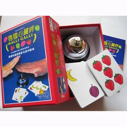 Play Games Cards Canada - Halli Galli Board Game 2-6 Players Cards Game For Party Family Friends Easy To Play With Free Shipping