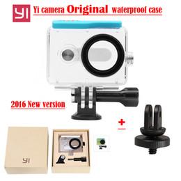 $enCountryForm.capitalKeyWord Canada - Wholesale- New updated Original Xiaomi Yi Camera Waterproof Case, Mi Yi 45M Diving Sports Waterproof Housing,Xiao Yi Camera Accessories