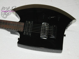 $enCountryForm.capitalKeyWord Australia - Latest Finished China OEM Musical Instrument 6 Strings Axe Shaped Custom Electric Guitar Maple Neck Silverburst Color