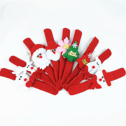 $enCountryForm.capitalKeyWord NZ - Children's Toys Bracelet Performance Show Wristband Christmas Different Style Kids' Gift Chirstmas Party Supplies DHL Fedex Fast Shipping