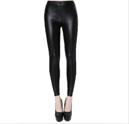 0bd2c3ce8cf 2017 Hot Selling Plus Size Fat Leggings Autumn Women High Density Chinlon  Imitated Leather leggings Capris Female Pants Skinny