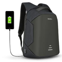 2017 nueva carga USB hombres antirrobo mochila de viaje 16 pulgadas mochilas portátiles para hombre mochilas a prueba de agua bolsas al por mayor en venta