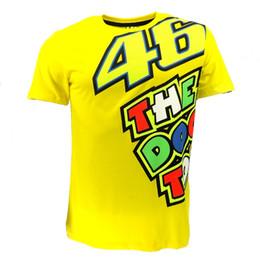 a5b7a41e9965d Valentino Rossi VR46 Yellow 46 The Doctor T-Shirt Racing Sport Motor Moto GP  T shirt