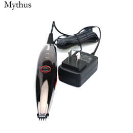 $enCountryForm.capitalKeyWord Canada - Rechargeable Electric Hair Trimmer For Men Stainless Steel Cutter Head Hair Carving Machine Letters Hair Clipper