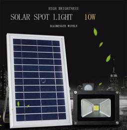 $enCountryForm.capitalKeyWord Canada - 6pcs IP65 Waterproof 6V*6W Solar Panel Energy Saving Environmental 1000LM 10W Motion Sensor Solar LED Floodlight Spotlight Light Lamp