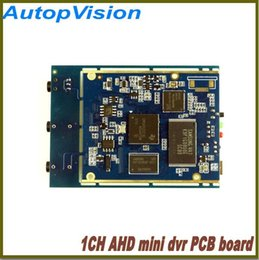 Chinese  Wholesale- 1PCS FREE SHIPPING Real time 1CH Mini AHD XBOX DVR PCB Board up to (1280*720P) 30fps support 128GB sd Card manufacturers