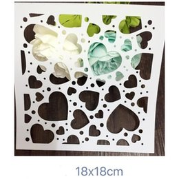 $enCountryForm.capitalKeyWord NZ - Painting stencil -wholesale laser cut stencils Masking template For Scrapbooking album drawing and more-Love background 183