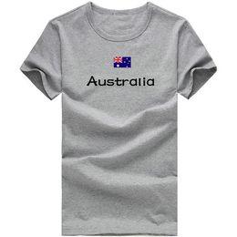 $enCountryForm.capitalKeyWord Canada - Australia T shirt Tennis sport short sleeve Stadium mission tees Nation flag clothing Unisex cotton Tshirt
