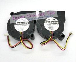projector sanyo Canada - New Original Sanyo 109BC12GD7-21 XF-47201 DC12V 0.12A 5015 5cm Projector cooling fan