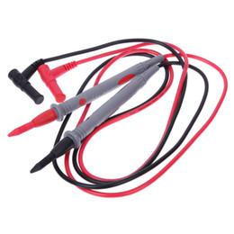 Vente en gros 1 paire de fils de test de sonde universelle 20A 1000V pour câble de compteur de multimètre numérique