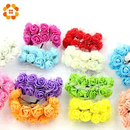 $enCountryForm.capitalKeyWord Canada - 360pcs Foam Lace Rose Handmake Artificial Flower Bouquet Wedding Decoration DIY Wreath Gift Box Scrapbooking Craft Fake Flower