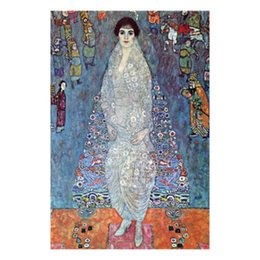 gustav klimt paintings NZ - Decorative paintings Gustav Klimt Baroness Elizabeth art for wall decor hand-painted oil on canvas