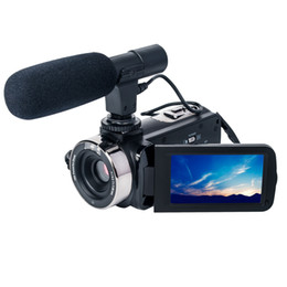 Chinese  2018 the HOT &NEW HD1080P DV  digital video camera High-quality 3 inch touch screen 24M pixels 16x digital zoom Night Vision Camcorders manufacturers