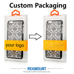 $enCountryForm.capitalKeyWord Canada - Colorful Hanger Custom Company LOGO Dust-proof PVC Transparent Packaging Box for Samsung s8 plus Mobile Phone Case Cover with Inner Tray