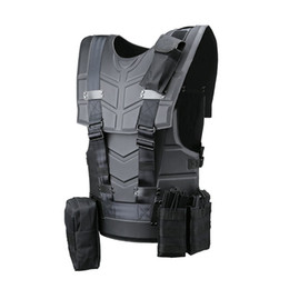 Combat vests online shopping - Fashion Multi function Tactical Armor Outdoor Sport Combat Tactical Vest and Equipment Cosplay Tactical Clothes Suit