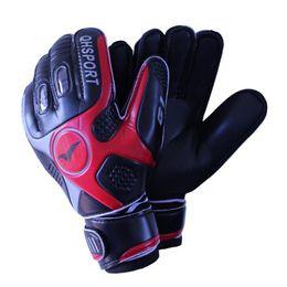 Gloves Football Goalkeepers NZ - 2017 Men Soccer Goalkeeper Gloves Wearable Slip Resistant Football Keeper Latex Goalie Gloves Professional Double Protection Fast Shipping