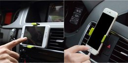 fixed car phone holder 2019 - Outlet Car phone holder Plastic Apple Car holder 360 ° rotation Safety anti-slip Easy to fix