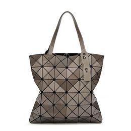 413ccdc69377 Fashion Brands Ladies Hand Bags Women Geometric Large Handbag Shoulder Bag  Lady Diamond Female bao bao Bag Designers Luxury