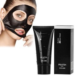 Discount pore cleaner masks peels PILATEN Face Skin Care Suction Black Mask Facial Mask Nose Blackhead Remover Peeling Peel Off Black Head 60ml