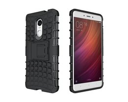 Chinese  For Xiaomi Redmi Note 4 Case Cover Armor Kickstand Shockproof Hybird Rugged Rubber Case For Xiaomi Hongmi Redrice Redmi Note 4   4X manufacturers