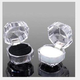 Earring Boxes Sale NZ - Factory Sale Fashion Jewelry Rings Box Top Grade Earring Package Box Putting Rings Pendant Jewelry Gift Box Free Shipping