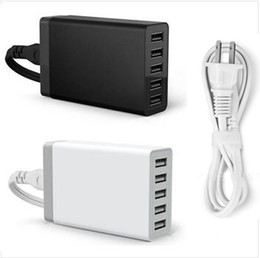 Charging station for ipad iphone online shopping - Quick Charging Station Dock USB Port USB Desktop Charger V A for iPhone iPad Air Smartphones Tablets
