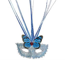 $enCountryForm.capitalKeyWord UK - 2017 hotsale Butterfly Princess Venetian mask feather masks rain dance party mask Halloween mask