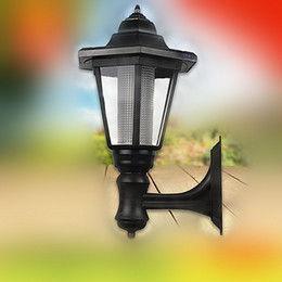 $enCountryForm.capitalKeyWord Canada - LED Solar Lights Garden Wall Lamps 60LM 35cm ABS Outdoor Waterproof Home Path Lighting Warm White Decorations Direct from China Factory