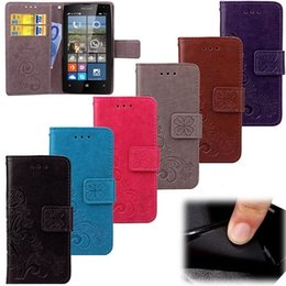 Cases for lumia phone online shopping - Clover Flower Lucky Wallet Leather Case For Nokia Lumia Huawei P10 PLUS Mate Pro V9 Play LG K10 M2 X Power Phone Cover
