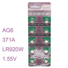 $enCountryForm.capitalKeyWord NZ - Wholesale- 10pcs   set Watch Batterie AG6 SR920SW SR69 SG6 371 Cell Button Batteries Alkaline Men Ladies Childre Watches Battery