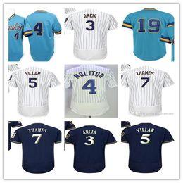 5f4b15c12 ... 2017 Milwaukee Jersey 3 Orlando Arcia 5 Jonathan Villar 4 PAUL MOLITOR  7 Eric Thames 19 2017 Milwaukee Brewers ...