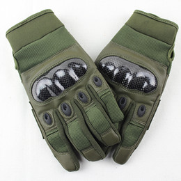 leather gloves for men Australia - Wholesale- Tactical Gloves for Men outdoor full finger army gloves antiskid sports microfiber Motocycel Bicycle Mittens Shooting gloves