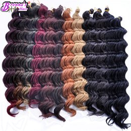 $enCountryForm.capitalKeyWord NZ - Black women hair style freeshipping synthetic weave loose wave italian curly braiding hair extension 18inch news hairstyle for salon beauty