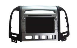Discount android mobile video - Android 6.0 Octa Core Car DVD Player GPS Sat Navi Stereo for Hyundai Santa Fe 2006-2012 Stereo Headunit